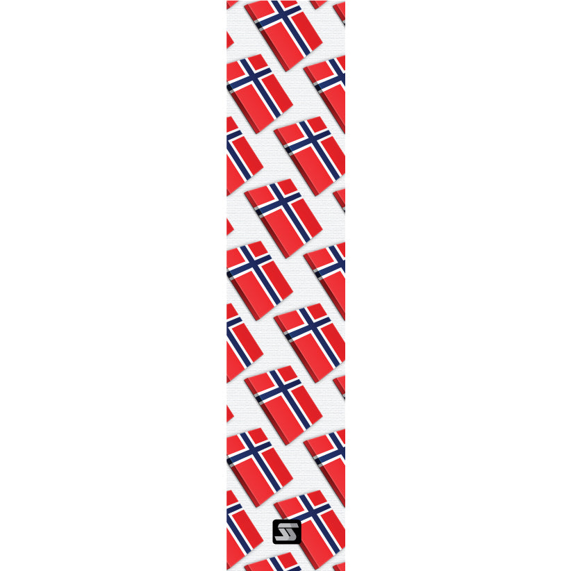 Norway small flags hockey grip