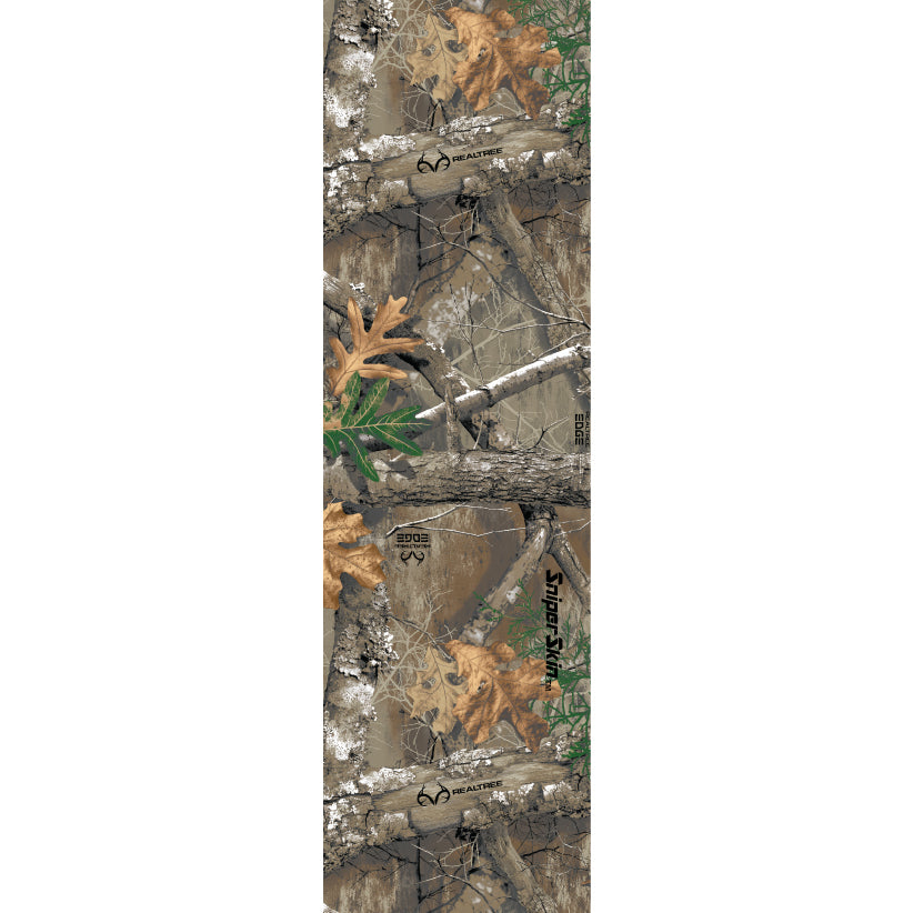 Edge camouflage fishing rod grip close-up