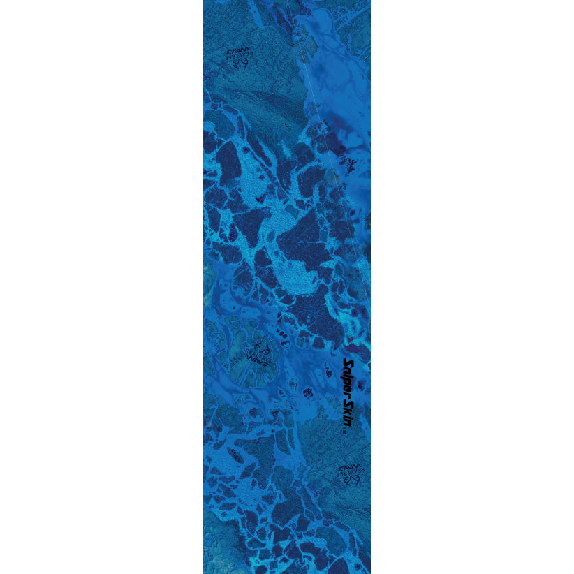 REALTREE WAV3 fishing rod grip pattern