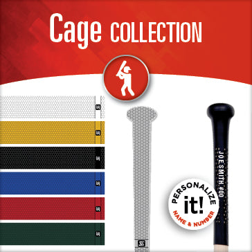 cage collection bat grips by sniper skin