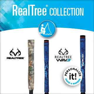 REALTREE fishing rod grips