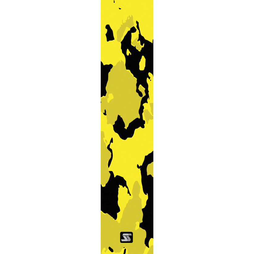 sunflower yellow/black fishing grip