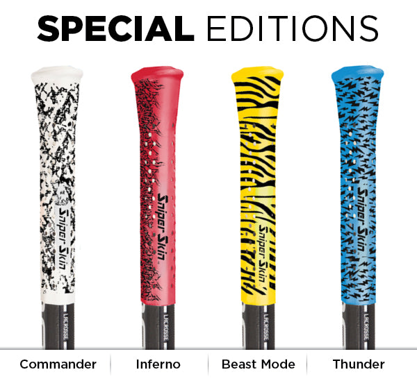 lacrosse grip special edition