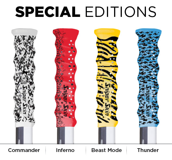 senior hockey grip special edition
