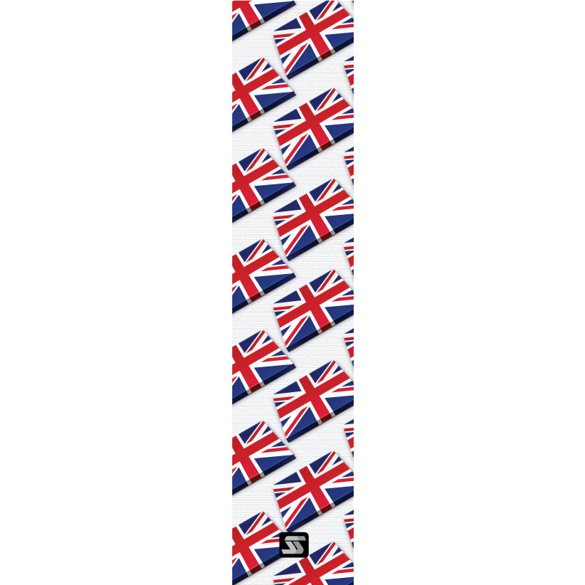 UK small flags hockey grip