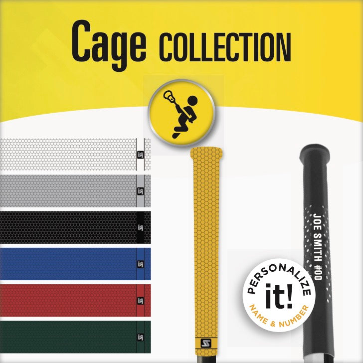 cage lacrosse grips