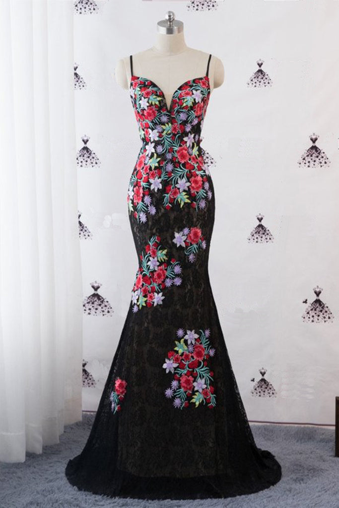 725293022f32 Sexy_Mermaid_Evening_Prom_Ball_Gown_Black_Dress_Satin_Straps_Spagehtti_Red_Flo_Floral_Bridal_Gown_V-neck_Bride_Wedding_Reception_Guest_Dresses_1024x1024.jpg  ...