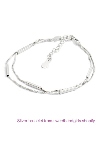 925 Sterling Silver Party Bracelet,Handmade Bracelet