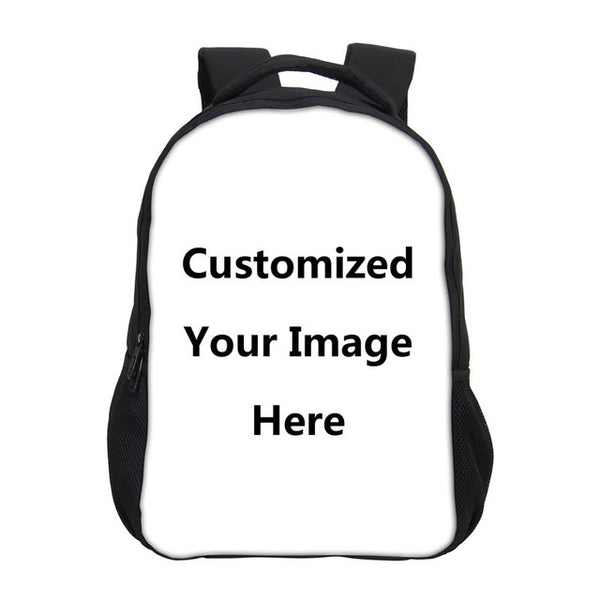 2019 Prom Dresses | Customized Individual Image Name Logo Backpacks For Men Women 3D Printing Casual Bag Rucksack Laptop Backpacks Mochila Escolar