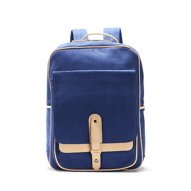 Sweet 16 Dresses | Fabra New Men Blet Backpack Women Shoulder School Bag Preppy Style Canvas Travel Book Daypacks for Teenagers Blue Big Backpack