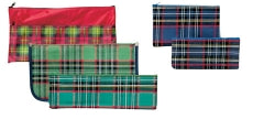 PENCIL CASE MARBIG LARGE 33X17CM TARTAN 1 ZIP
