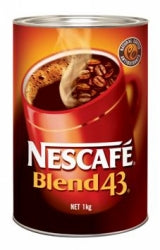 COFFEE NESCAFE BLEND 43 CAN 1KG