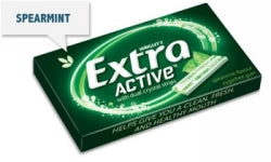 CONF WRIGLEYS EXTRA ACTIVE SPEARMINT
