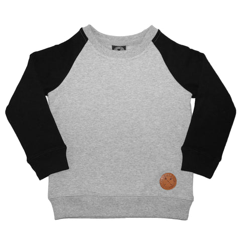 Essentials Crew Neck Jumper - Raglan
