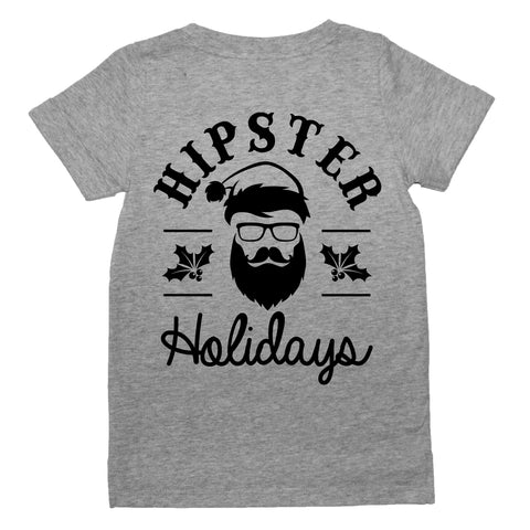 Hipster Holidays Tee - Grey (COMING SOON)