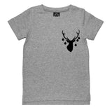 Hipster Holidays Tee - Grey