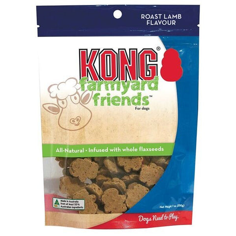 KONG DOG FARMYARD FRIENDS ROAST LAMB 200G | Southside Stockfeeds Kilmore