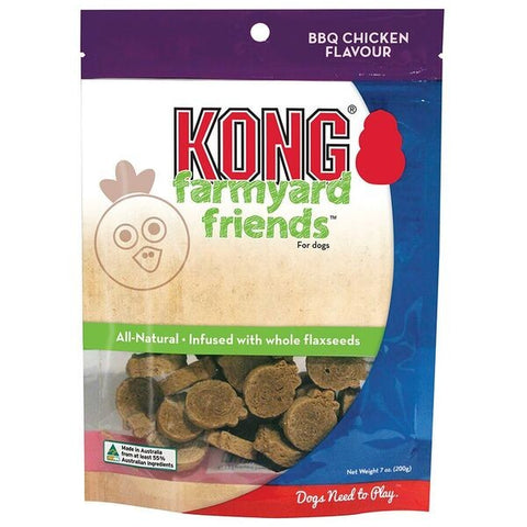 KONG DOG FARMYARD FRIENDS BBQ 200G | Southside Stockfeeds Kilmore