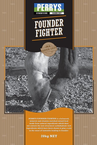 PERRYS FOUNDER FIGHTER 20KG | Southside Stockfeeds