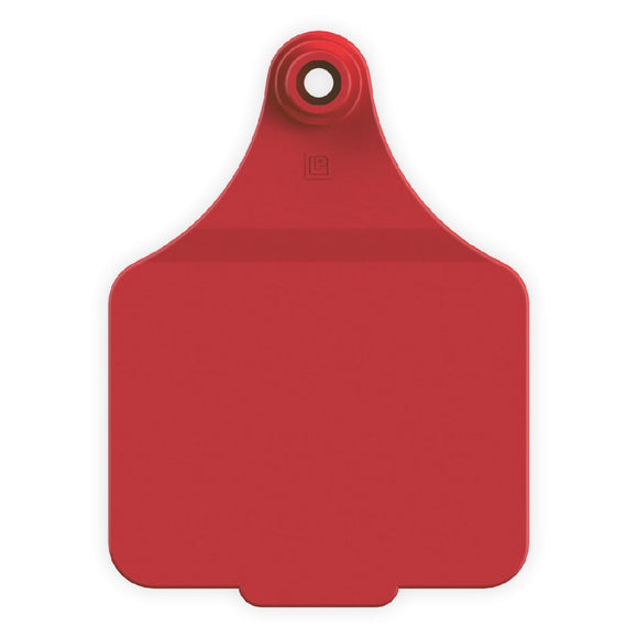 LEADER EAR TAGS FEMALE SIZE 3 RED EACH