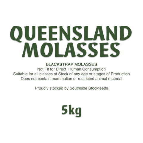 Queensland Molasses 5kg | Southside Stockfeeds Kilmore