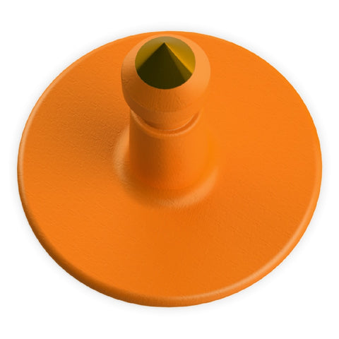 LEADER BUTTONS ORANGE EACH | Southside Stockfeeds Kilmore