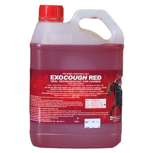 EXOCOUGH  RED 2.5 LTR