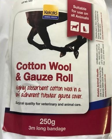 Kelato Cotton Wool Gauze 250gr