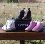 BAXTER BOOTS 056 BABY WESTERNS JACK BROWN | Southside Stockfeeds Kilmore