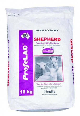 PROFELAC SHEPHERD LAMB & KID MILK POWDER 16KG | Southside Stockfeeds Kilmore