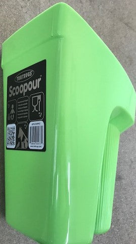 TUB TRUG FEED SCOOP PISTACHIO | Southside Stockfeeds Kilmore