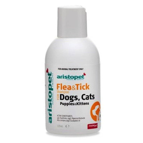 ARISTOPET FLEA AND TICK SHAMPOO FOR DOGS AND CATS 250 ML | Southside Stockfeeds