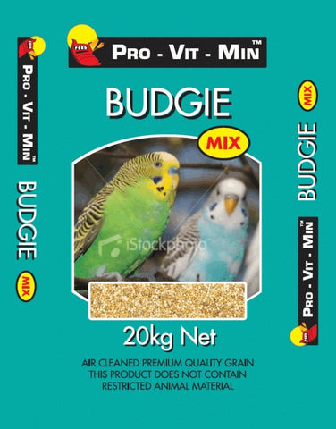 BUDGIE BREEDERS MIX 20KG | Southside Stockfeeds Kilmore