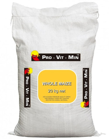 WHOLE MAIZE 20KG PROVITMAN | Southside Stockfeeds