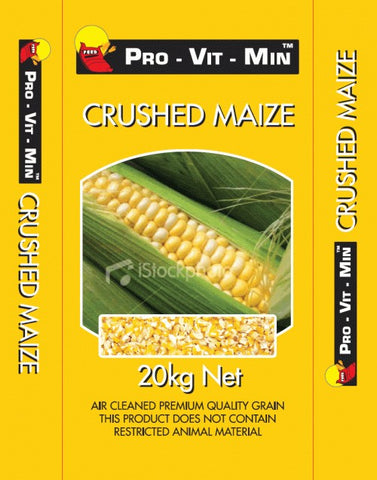 CRUSHED MAIZE 20KG | Southside Stockfeeds Kilmore