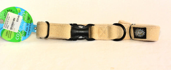 COLLAR COZY HEMP DOG NECK SIZE 18