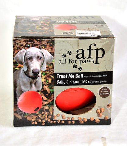 DOG TOY TREAT ME BALL