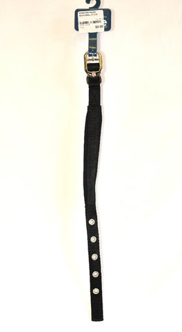 ES PADDED COLLAR BLACK SMALL 37.5CM | Southside Stockfeeds Kilmore