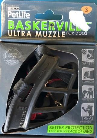 PETLIFE BASKERVILLE MUZZLE SMALL | Southside Stockfeeds