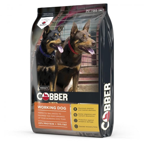 COBBER WORKING DOG 20KG . | Southside Stockfeeds Kilmore