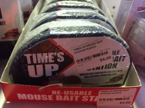 TIMES UP MOUSE BAIT STATION PLASTIC | Southside Stockfeeds Kilmore
