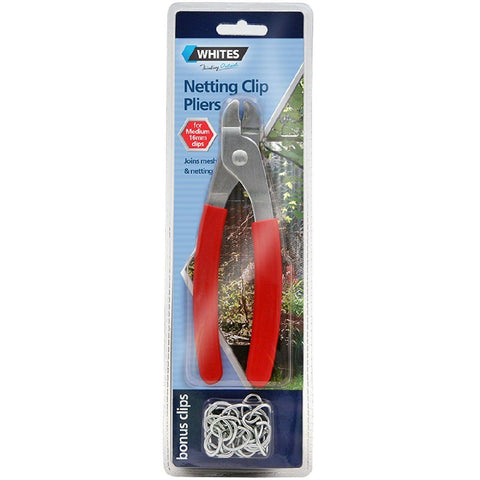 WHITES NETTING CLIP PLIERS FOR 16MM CLIPS | Southside Stockfeeds