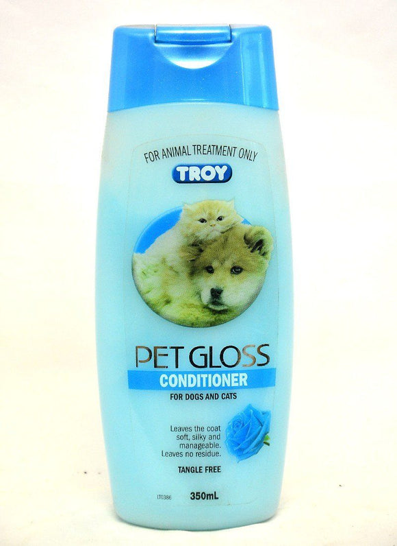 TROY PET GLOSS CONDITIONER FOR DOGS & CATS