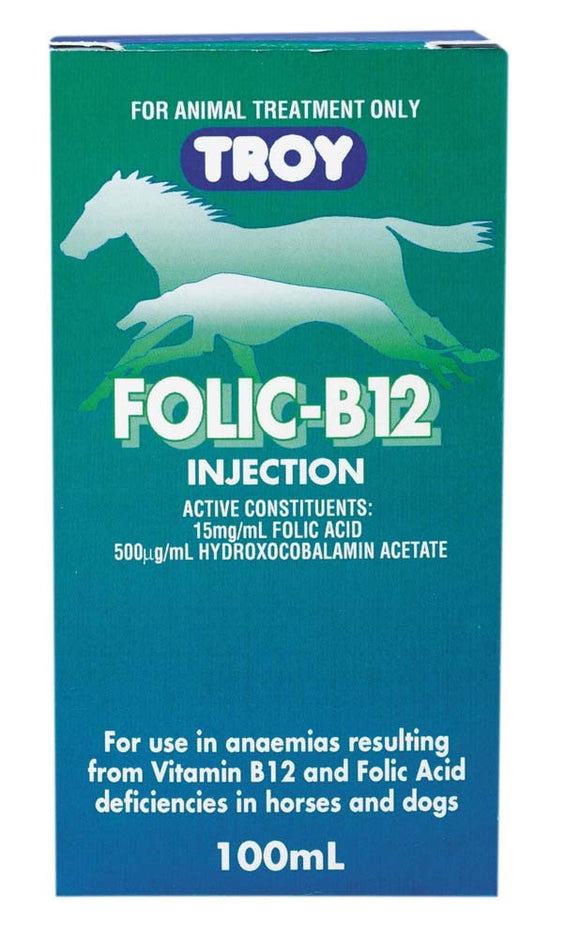 TROY FOLIC B12 INJECTION 100ML
