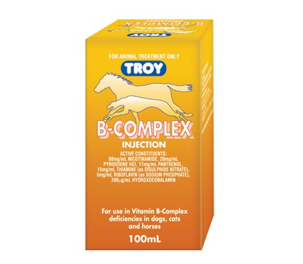 TROY B COMPLEX INJECTION 100ML