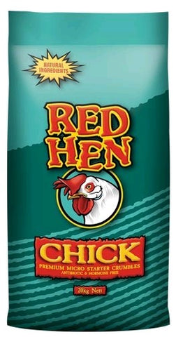 RED HEN CHICK STARTER CRUMBLES 20KG | Southside Stockfeeds