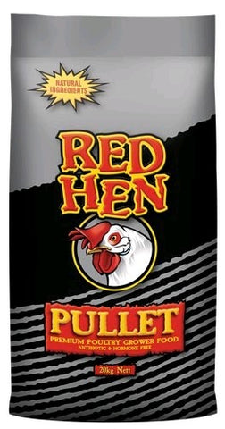 RED HEN PULLET GROWER 20KG | Southside Stockfeeds