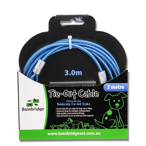 BAINBRIDGE TIE OUT CABLE 3 METRES