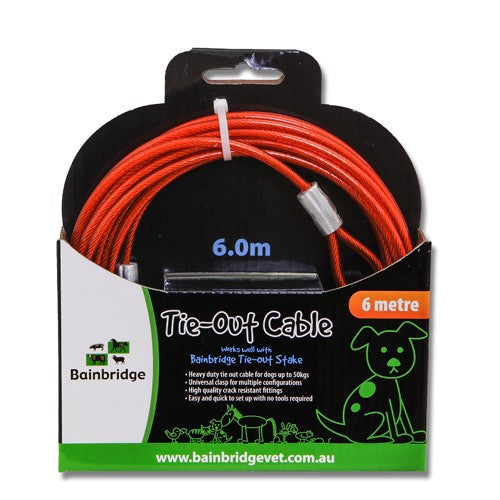 BAINBRIDGE TIE OUT CABLE 6 METRES