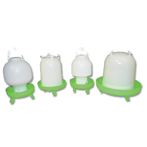 BAINBRIDGE POULTRY DRINKER CW LEGS 4LTR BALL TYPE. | Southside Stockfeeds Kilmore